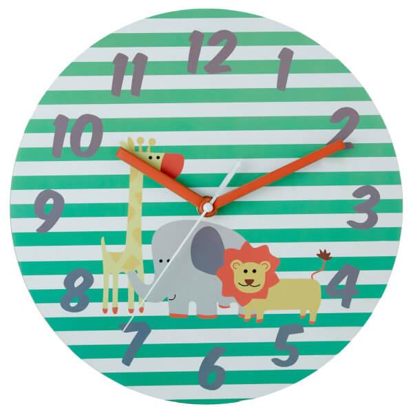 Kids Safari Wall Clock