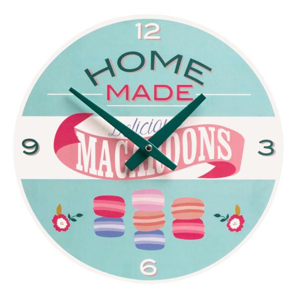 Amelie Macaroons Wall Clock