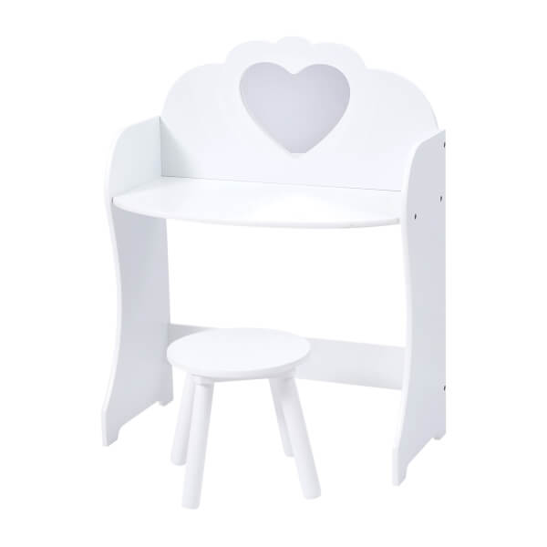 Wooden Dressing Table - White
