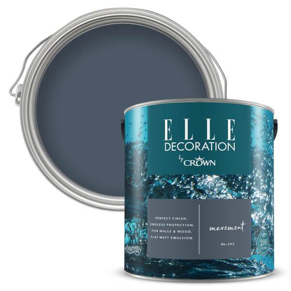 ELLE Decoration by Crown Flat Matt Paint - Movement 2.5L