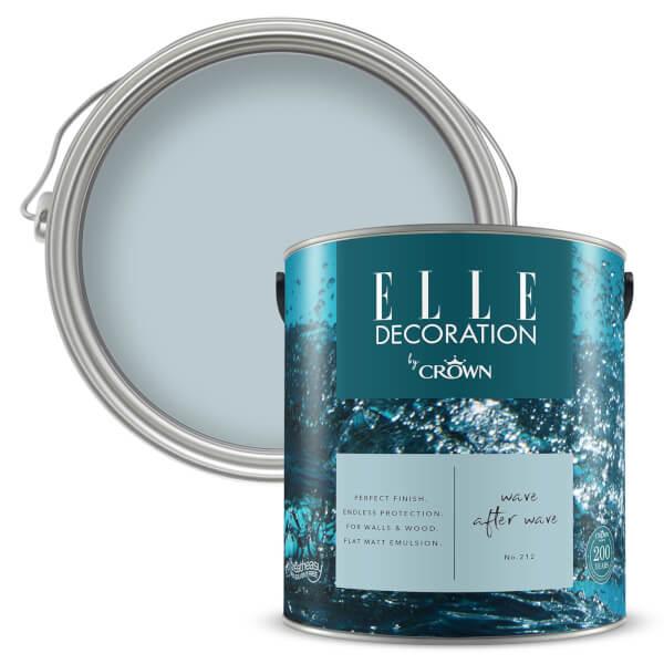 ELLE Decoration by Crown Flat Matt Paint - Wave After Wave 2.5L