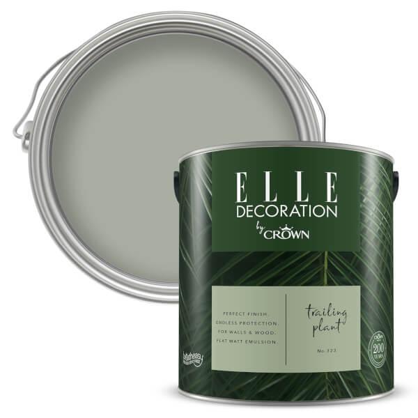 ELLE Decoration by Crown Flat Matt Paint - Trailing Plant 2.5L