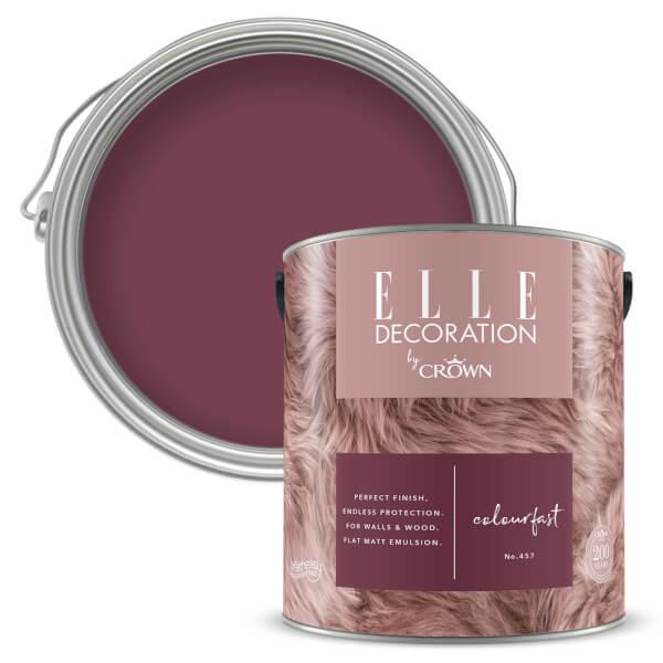 ELLE Decoration by Crown Flat Matt Paint - Colourfast 2.5L