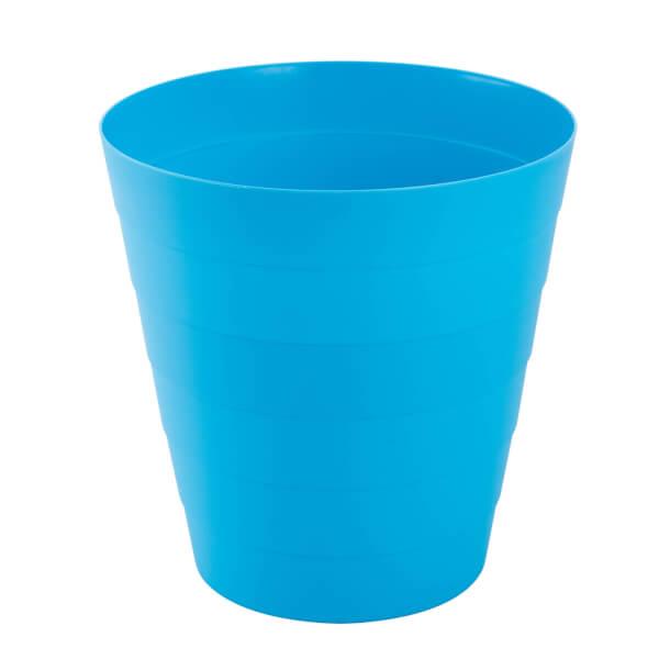 Plastic Waste Bin - Blue - 6L