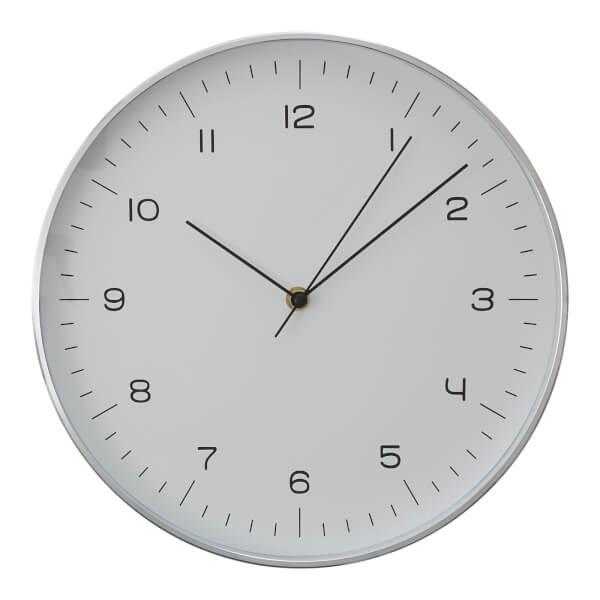 Elko Wall Clock - Silver