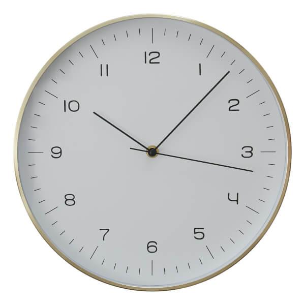 Elko Wall Clock - Gold