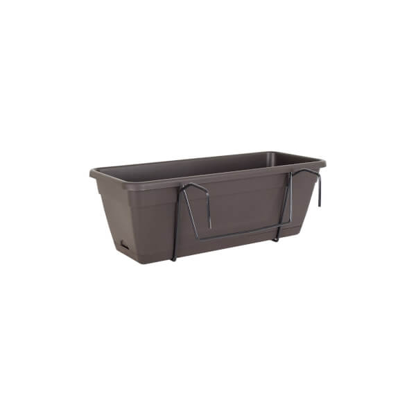 Balcony Trough Kit in Anthracite - 50cm