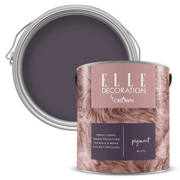 ELLE Decoration by Crown Flat Matt Paint - Pigment 2.5L