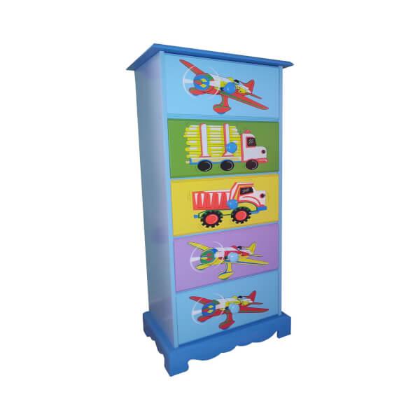 Transport 5 Drawer Storage Unit