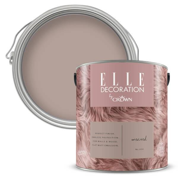 ELLE Decoration by Crown Flat Matt Paint - Weaved 2.5L