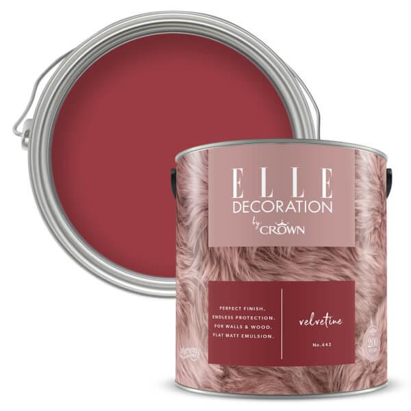 ELLE Decoration by Crown Flat Matt Paint - Velvetine 2.5L