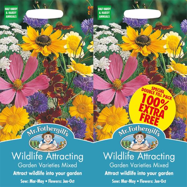 Mr. Fothergill's Wildlife Attracting Garden Varieties Mixed