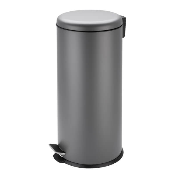 30L Soft Closing Pedal Bin Grey
