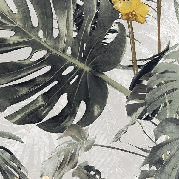 Grandeco Paradiso Yellow Wallpaper