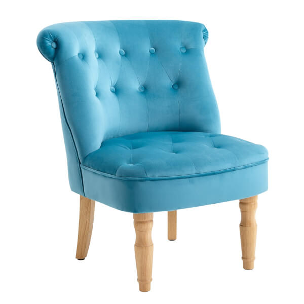Emily Occasional Chair - Blue