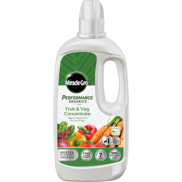 Miracle-Gro Performance Organics Fruit & Veg Liquid Food - 1L