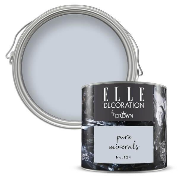 ELLE Decoration by Crown Flat Matt Paint - Pure Minerals 125ml