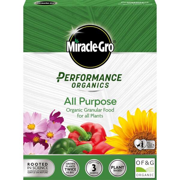 Miracle-Gro Performance Organics All Purpose Plant Food  - 1kg