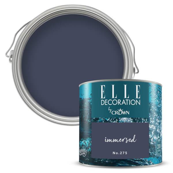 ELLE Decoration by Crown Flat Matt Paint - Immersed 125ml