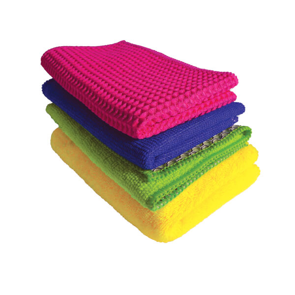 Complete Home Microfibre Cloths - Set of 4