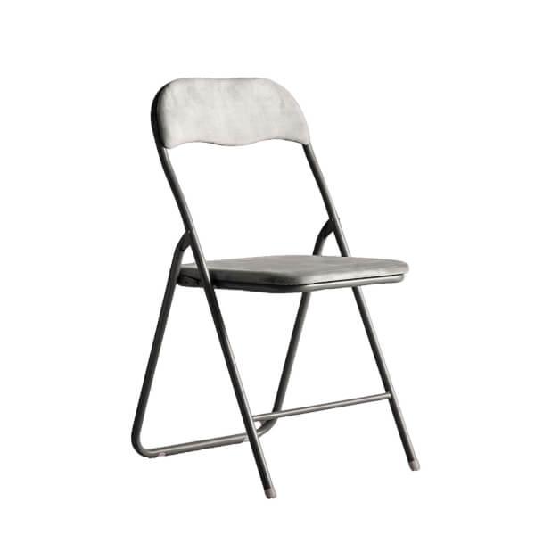 Folding Chair - Dark Grey