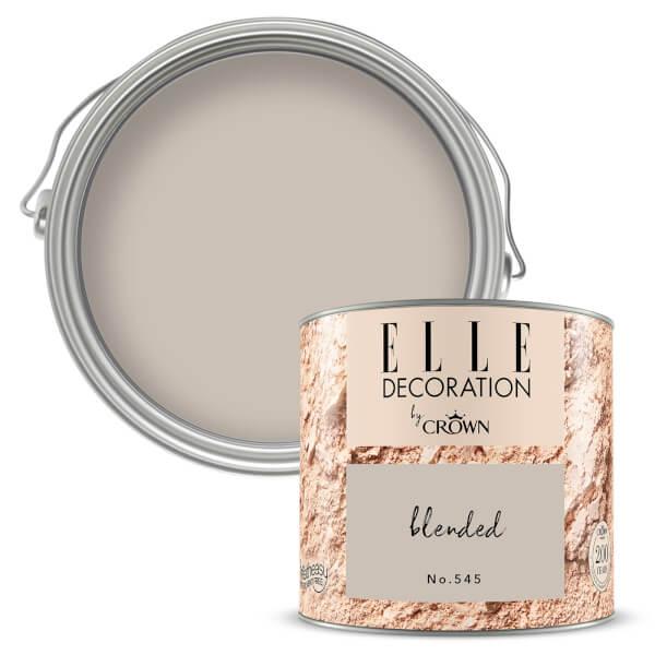 ELLE Decoration by Crown Flat Matt Paint - Blended 125ml