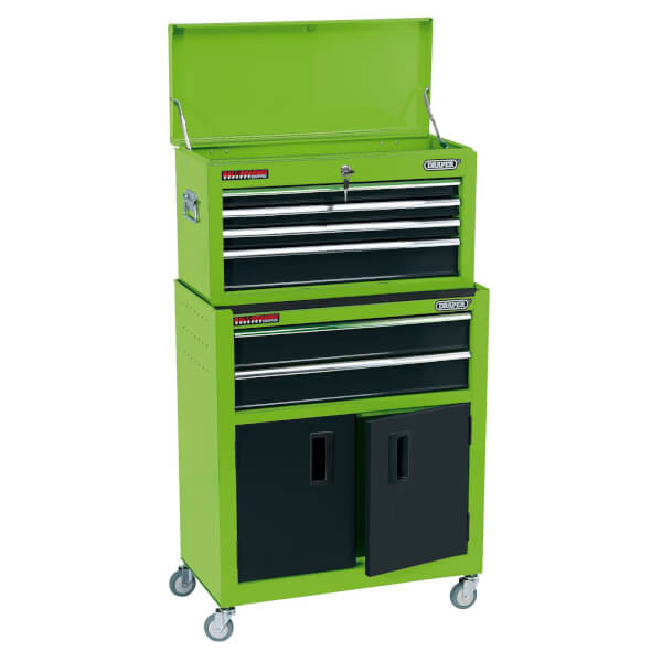 24 Inch Combi Roll Cab Tool Chest 6 Drawer