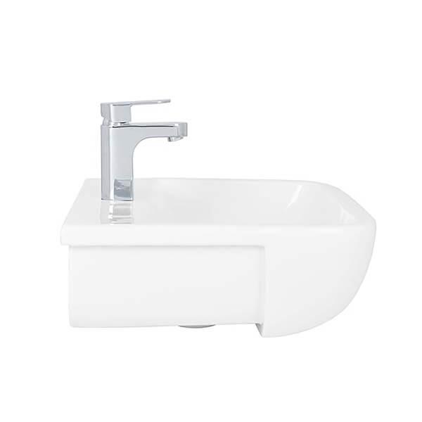 Bathstore Cedar 520mm Semi Recessed Basin