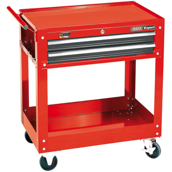 Draper Expert 2-Level Tool Trolley With Two Drawers