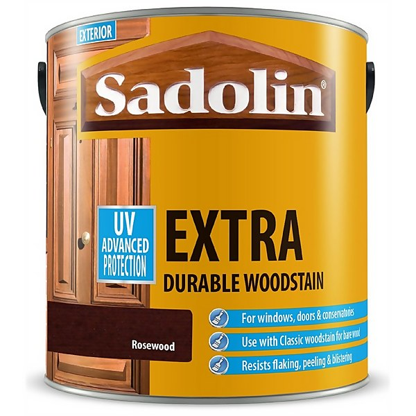 Sadolin Extra Durable Woodstain - Rosewood - 2.5L