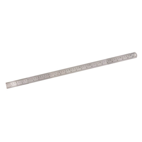 Silverline Steel Rule 600mm