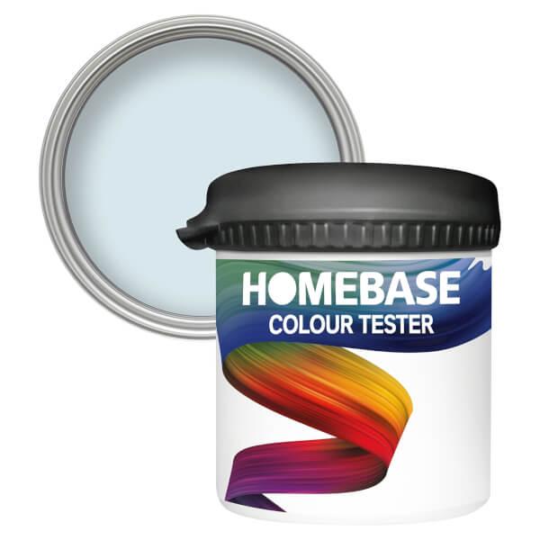 Homebase Matt Colour Paint Tester - Blue Dolphin 90ml
