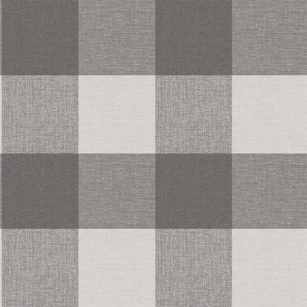 Superfresco Glamorous Check Charcoal Wallpaper