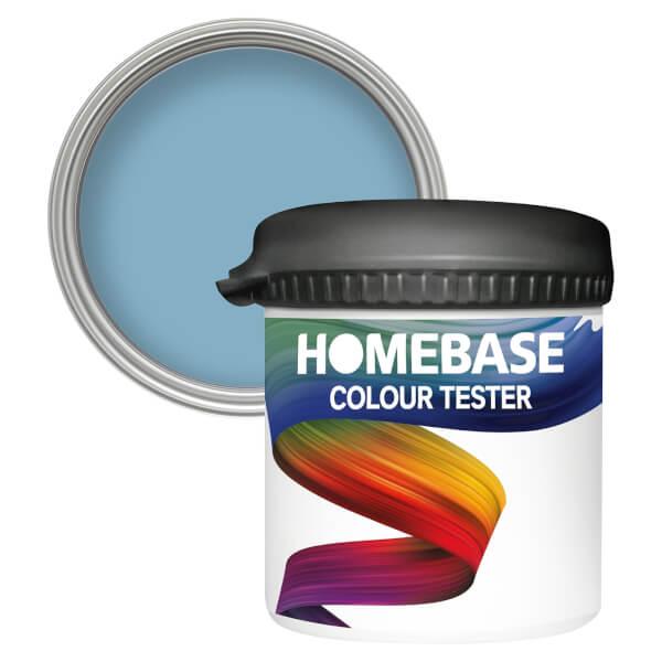 Homebase Matt Colour Paint Tester - Ocean Calm 90ml