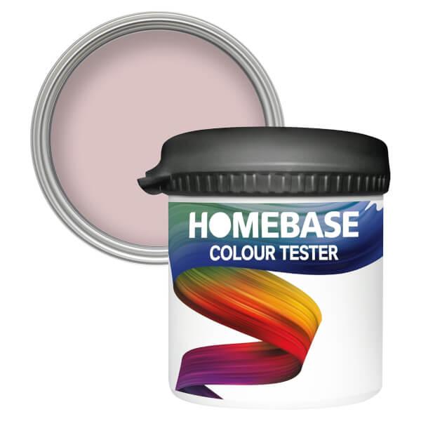 Homebase Matt Colour Paint Tester - Hush Pink 90ml