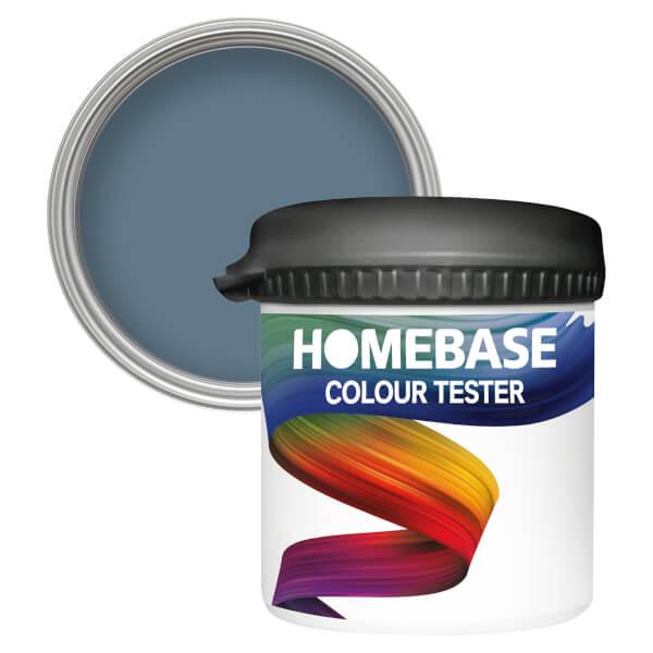 Homebase Matt Colour Paint Tester - Aegean 90ml