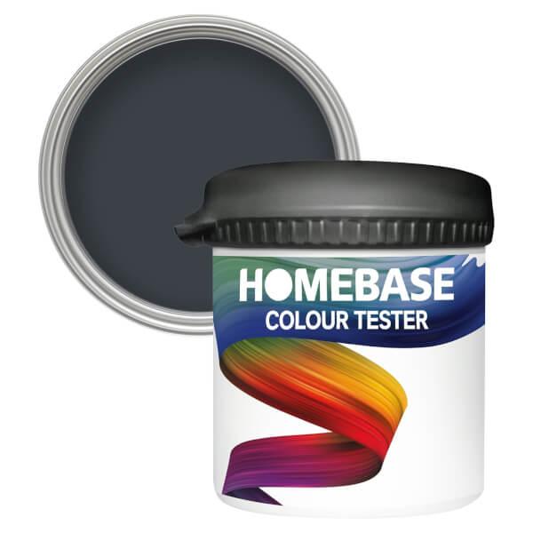 Homebase Matt Colour Paint Tester - Nighttime Blue 90ml