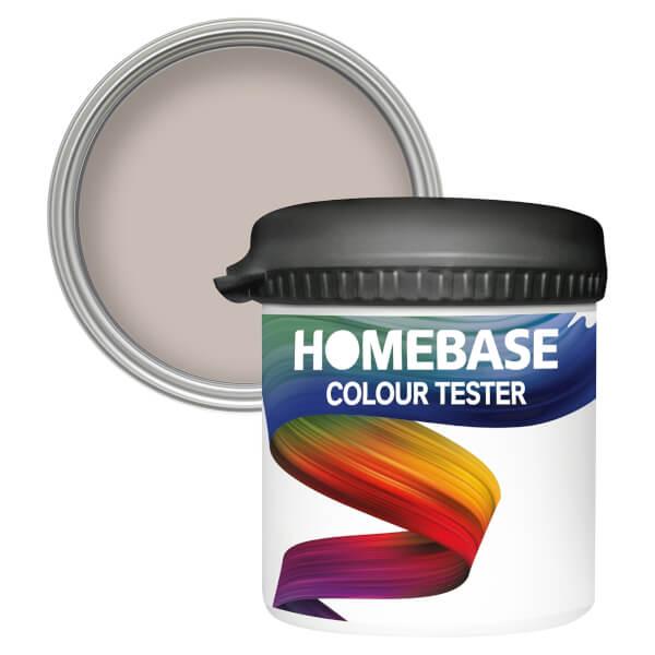 Homebase Matt Colour Paint Tester - Parched Earth 90ml
