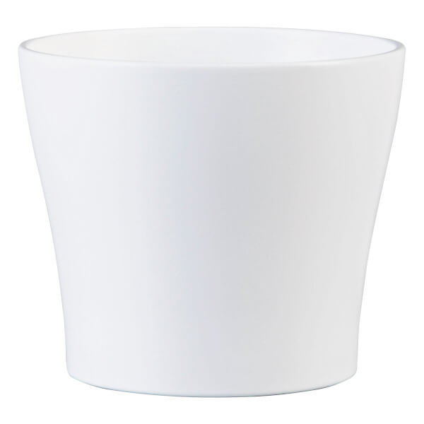 Plant Pot - White - 27cm