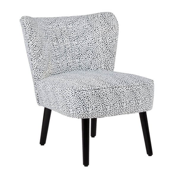 Occasional Chair - Dalmatian Print