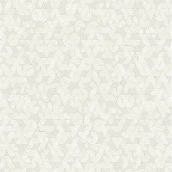 Holden Decor Origami Geometric Embossed Metallic Dove Grey Wallpaper