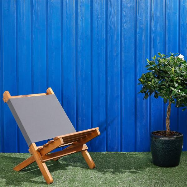Premium Timber Cladding SertiWOOD Viking Signal Blue Secret Fix (6 Pack) 1.72m2