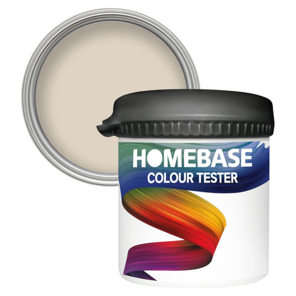 Homebase Matt Colour Paint Tester - Fine Sand 90ml
