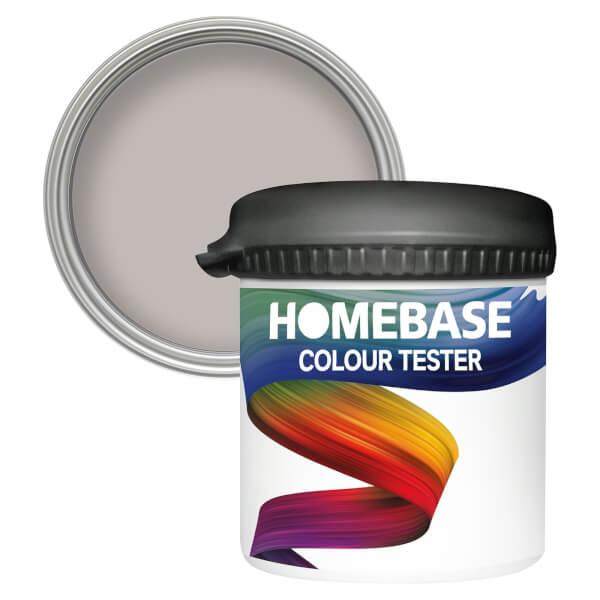 Homebase Matt Colour Paint Tester - Smoked Pearl 90ml