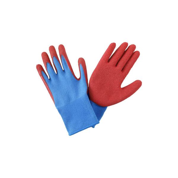 Budding Gardener Gloves - Blue and Red Kids