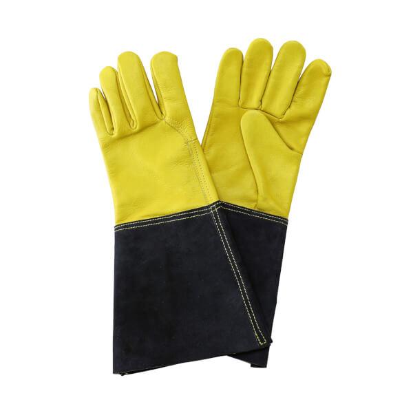Luxury Leather Gauntlet Gloves