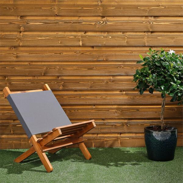 Premium Timber Cladding SertiWOOD Viking White Oak Secret Fix (6 Pack) 1.72m2