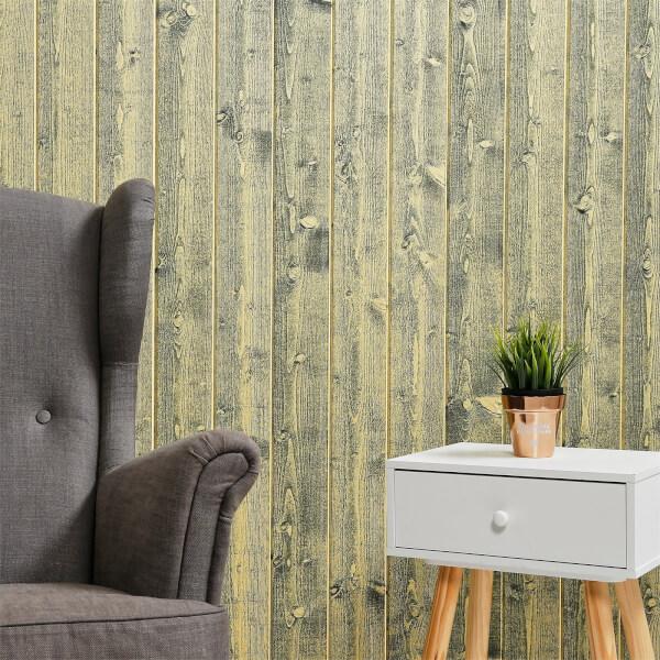 Premium Timber Cladding SertiWOOD Rustic Lemon  (8 Pack) 2.10m2