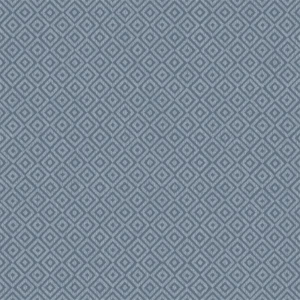Holden Decor Riviera Diamond Geometric Textured Metallic Navy Wallpaper