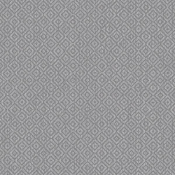 Holden Decor Riviera Diamond Geometric Textured Metallic Charcoal Wallpaper